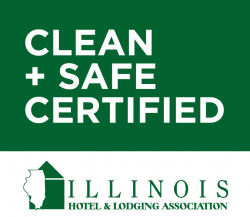 IHLA CLEAN + SAFE CERTIFIED GRAPHIC